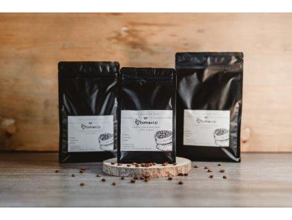 Káva Brazil - černý obal 500g